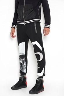 PHILIPP PLEIN 'Ikue' printed sweatpants with swarovski
