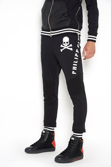 PHILIPP PLEIN 'Calvin' printed sweatpants with side logo bands