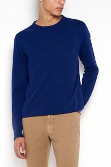 ZANONE Crew neck virgin wool and cashmere cardigan