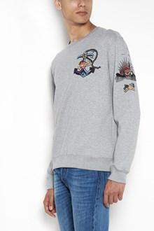 VALENTINO 'tattoo anchor' embroidered crew-neck sweatshirt