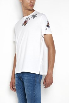 VALENTINO 'Anchor tattoo' embroidered crew-neck t-shirt