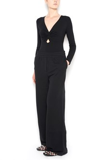 T by ALEXANDER WANG twist-front long sleeves bodysuit