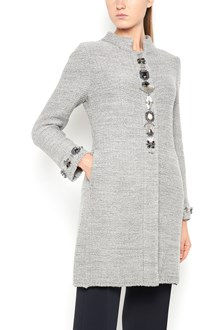 "CHARLOTT ""Chanel"" coat with jewel application"