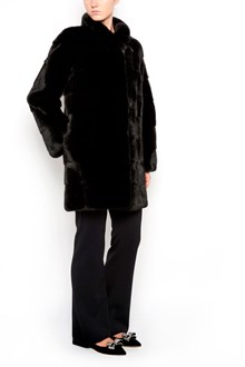 YVES SALOMON fur long coat