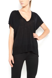 T by ALEXANDER WANG t-shirt from T by Alexander Wang: short sleeves t-shirt with scoop neck