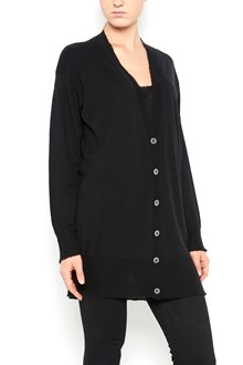 T by ALEXANDER WANG gauzer cashmere nylon blend long line cardigan