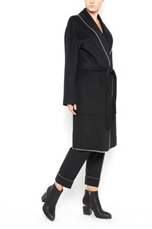 "ALEXANDER WANG ""bat roll"" coat with studs"