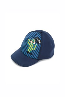 FENDI KIDS neoprene stretch cap with print