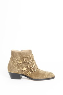 "CHLOÉ leather ""susanna"" ankle boot with studs"