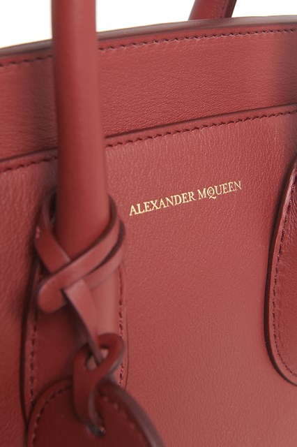 ALEXANDER MCQUEEN Bag from Alexander McQueen: Calf leather 'small Heroine' purse