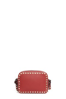 "VALENTINO GARAVANI ""rockstud"" leather shoulder bag with studs"