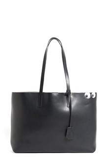 ANYA HINDMARCH 'Ebury' leather shopper with 'circus eyes'