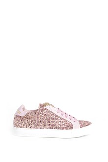 PHILIPP PLEIN Low top glittered 'Mary' sneakers