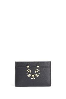 CHARLOTTE OLYMPIA 'Feline' leather card holder