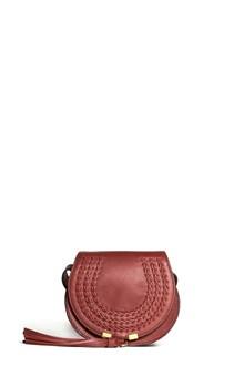 CHLOÉ 'Marcie' leather shoulder bag with tassel