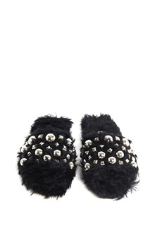 MIU MIU Eco sherling slippers