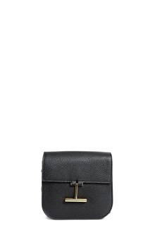 TOM FORD Leather mini 'Tara' crossbody bag with gold accents