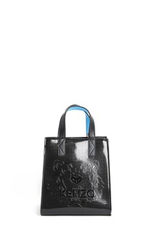 KENZO Nylon small tote with contrasting inserts