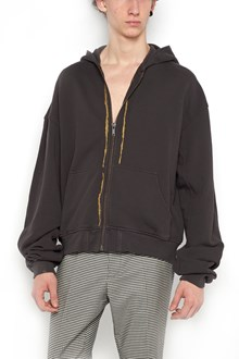 HAIDER ACKERMANN hoodie with gold band