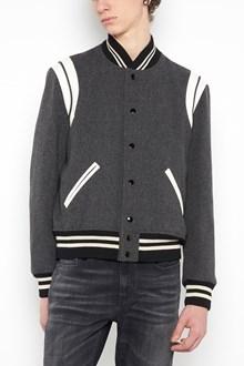 SAINT LAURENT Virgin wool bomber jacket
