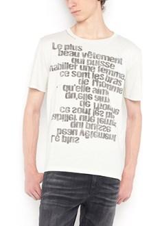 SAINT LAURENT 'Citacion' printed t-shirt