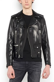 SAINT LAURENT leather classic jacket