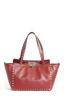 VALENTINO GARAVANI Small calf leather  'Rockstud'  bag