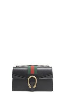 GUCCI Calf leather 'Dionysus' small bag with big jewel closure