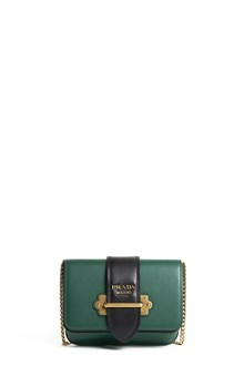 PRADA Pouch 'Cahier' in city calf leather