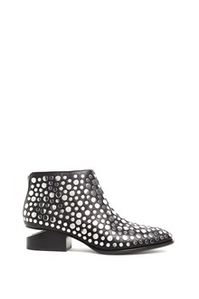 ALEXANDER WANG Leather studded 'Kori' ankle boot