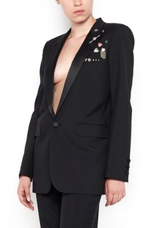 SAINT LAURENT blazer from Saint Laurent: smoking blazer with brooches