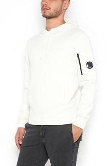 C.P. COMPANY hooded sweatshirt in diagonal