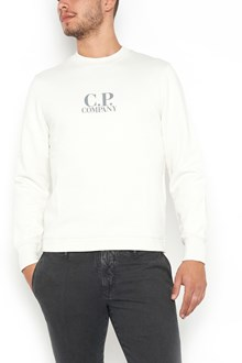 C.P. COMPANY crew neck swaetshirt with logo in front