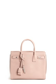 SAINT LAURENT Leather 'Sac De Jour' baby carryall shoulder bag