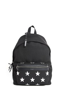 SAINT LAURENT California city backpack with silver stars
