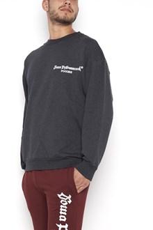 GOSHA RUBCHINSKIY crew neck swaetshirt with logo in front