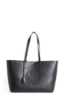 ANYA HINDMARCH Leather 'Ebury' shopper II esmiley circus