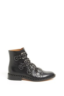 GIVENCHY Leather 'Elegant' ankle boot with 'Prue' studs