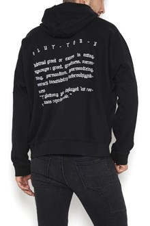 RTA Cotton hoodie with written in back