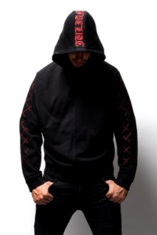 "RTA hoodie with ""Julian"" print"