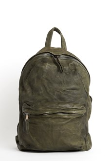 GIORGIO BRATO Leather 'Mod Eastpack' with worn out look
