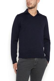 ZANONE merine wool sweater with neckband