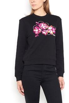 CARVEN Crew-neck embroidered sweatshirt