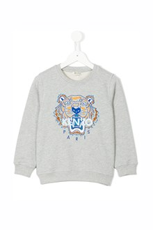 KENZO KIDS 'Tiger' printed cotton sweatshirt