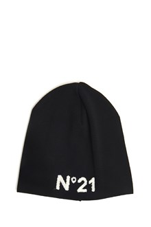 N°21 Wool beanie with logo