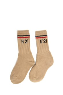 N°21 Cotton socks with logo