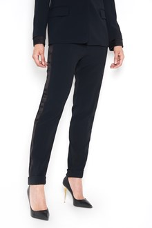 TOM FORD Stretch cady trousers with side bands