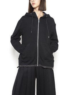 SACAI zipped hoodie with pockets