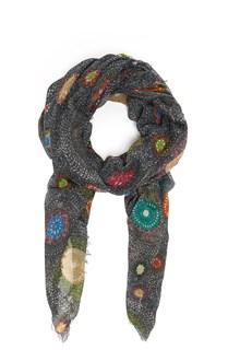 FALIERO SARTI 'Girandole' multicolour printed scarf