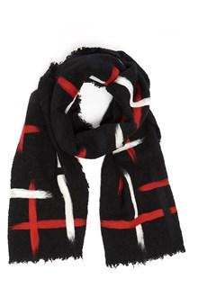 FALIERO SARTI ' Pluncky' multicoloured scarf with cross print